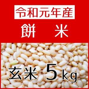 もち米(H29年産) 玄米 5kg|konohanafamily