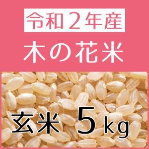木の花米(令和2年産) 玄米 5kg konohanafamily