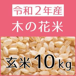 木の花米(令和2年産) 玄米 10kg konohanafamily