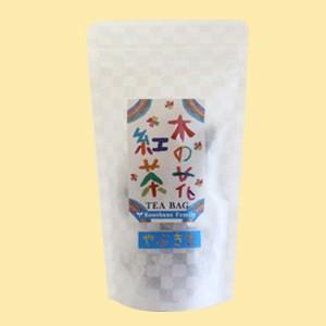 木の花紅茶 やぶきた ティーバッグ 2.5g×12P(農薬・化学肥料不使用)|konohanafamily