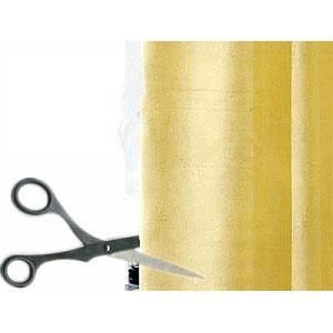 裏地付き 遮光カーテン専用カーテン丈詰め 2枚組分|konpo