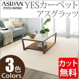 アスワン YESカーペット アスグラッツ ラグサイズ 200cm×300cm