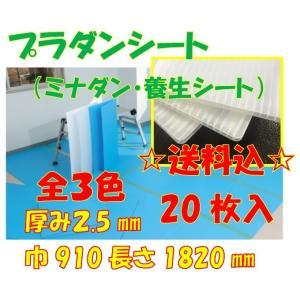 プラダンシート ミナダン 養生シート 全3色 20枚セット1枚250円厚み2.5mm910×1820mmナチュラル、ライトブルー、グレー酒井化学 konpou
