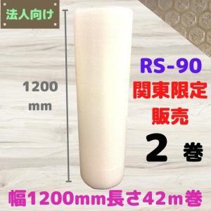 エアセルマット ( プチプチ d35 d36 エアキャップ ミナキャップ #400SS) RS-90 関東限定販売 幅1200mm 長さ42m 2巻セット konpou