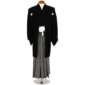 ■商品名/品番 紋付レンタルフルセット(黒) re-mtk-001  ■セット内容 ・羽織 ・着物 ...