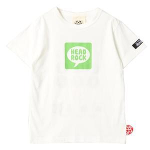 セール ヘッドロック HEAD ROCK キッズ ジュニア LINE風Tシャツ 半袖 男の子 90 100 110 120 130 140 150cm 2019春夏|konyankobrando-kids