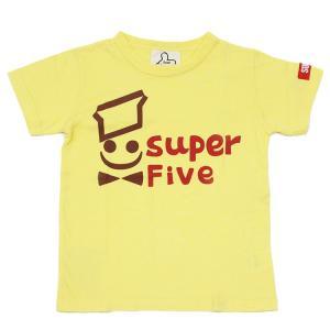 セール スーパーファイブ SUPER5 大人 メンズ ミスタードーナツ風Tシャツ 半袖 160 170 180cm 2019春夏|konyankobrando-kids