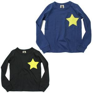 ブライドワーク スーパーファイブ SUPER5 星ワッペンTシャツ スター 100 110 120 130 140 150cm ネイビー ブラック|konyankobrando-kids
