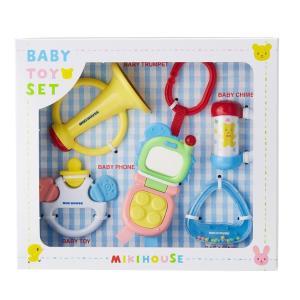 ミキハウス MIKI HOUSE ベビートイセット 箱入 5点セット おもちゃ 詰め合わせ konyankobrando-kids