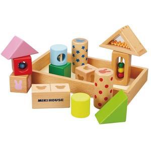 ミキハウス MIKI HOUSE ラトルブロック 箱入 詰め合わせ 積み木 konyankobrando-kids