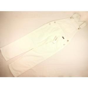 【セール】by LOVEiT(バイラビット)★ベーシックオフホワイトカラーのサロペットパンツ|konyankobrando-kids