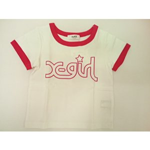 エックスガールステージス X-girl Stages ミルズロゴ半袖Tシャツ 半袖 Tシャツ 80 90 100 110 120 130 140cm|konyankobrando-kids