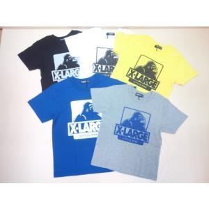 836078a2e4fd1 セール XLARGE KIDS(エクストララージキッズ)定番アイコンプリント入り半袖Tシャツ