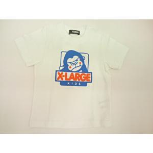 エクストララージキッズ XLARGE KIDS ジュニア ファニーゴリラ半袖Tシャツ 半袖 Tシャツ 80 90 100 110 120 130 140cm|konyankobrando-kids