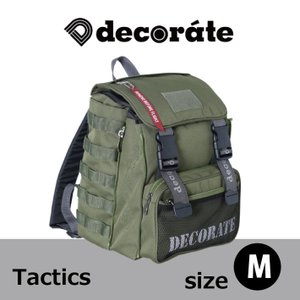 【2017新作】キッズ リュック スクールバッグ decorate デコレート Daily Style Tactics 【Mサイズ】20L 入園 入学 通園 通学|konyankobrando-kids