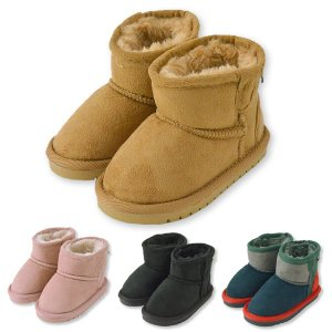 アンパサンド ampersand ショート ブーツ シューズ 靴 ベージュ ピンク ブラック ネイビーブルー 13 13.5 14 14.5 15 16 17 18 19 20 21cm|konyankobrando-kids