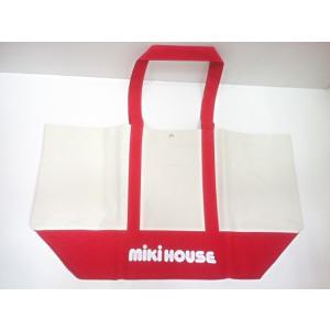 【単品での購入は不可となります】《非売品》ブランド関係なく5万円以上お買い上げプレゼント ミキハウス mikihouse ビッグトートバッグ ノベルティ|konyankobrando-kids
