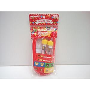 【単品での購入は不可となります】《非売品》ブランド関係なく3万円以上お買い上げプレゼント ミキハウス mikihouse なわとび ノベルティ|konyankobrando-kids