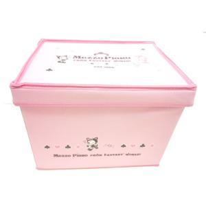 【単品での購入はできません!!】 《非売品》 ブランド関係なく8万円以上お買い上げでプレゼント〜メゾピアノ折りたたみ収納ボックス