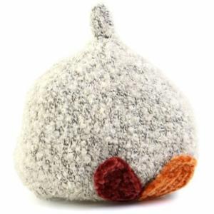 プチジャム Petit jam 木の葉のニット帽子 2017 アイボリー 42-44cm|konyankobrando-kids