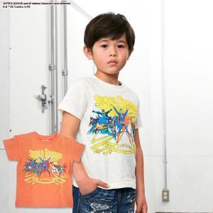 F.O.KIDS エフオーキッズ ジュニア DCスーパーフレンズTシャツ 80 90 95 100 110 120 130 140cm 2019春夏|konyankobrando-kids