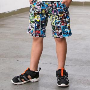 F.O.KIDS エフオーキッズ キッズ DCコミック柄カラーハーフパンツ ズボン 80 90 95 100 110 120 130 140cm 2019春夏|konyankobrando-kids
