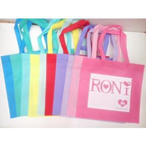 【単品での購入は不可となります】《非売品》ブランド関係なく2万円以上お買い上げプレゼント ロニィ RONI RONIカラフルトートバッグ ノベルティ|konyankobrando-kids