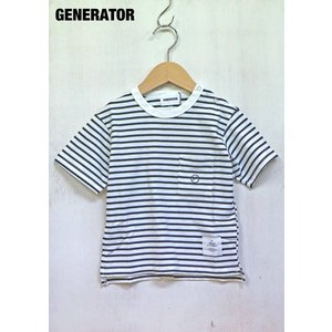GENERATOR/ジェネレーター 子供服 ポケットボーダーTシャツ 半袖ボーダーTシャツ 男の子 女の子  2018SS|kooka