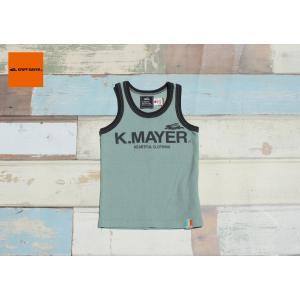 KRIFF MAYER / クリフメイヤー 子供服 サーフニットブランドロゴタンク 男の子|kooka