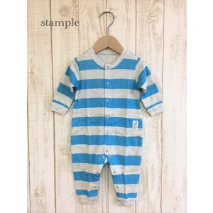 stample / スタンプル ベビー服 フライスカバーオール 女の子 男の子|kooka