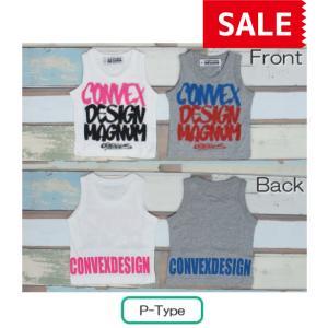 【SALE】【40%OFF】CONVEX / コンベックス 子供服 キッズタンクトップ  Pタイプ アソート 男の子|kooka