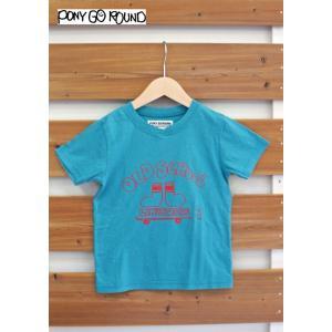 【SALE】PONY GO ROUND / ポニーゴーラウンド 子供服 OLD SCHOOL 半袖Tシャツ 男の子&女の子 2017SS|kooka