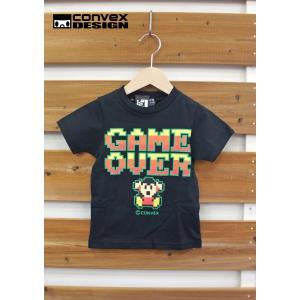 CONVEX / コンベックス 子供服 ゲームオーバーTシャツ 100cm 110cm 120cm 男の子 2017SS|kooka