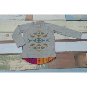 KICCOLY / キッコリー 子供服 キッズTシャツ ストライプPWラグランTシャツ 130cm 女の子|kooka