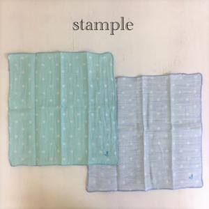 stample / スタンプル 子供 オーガニックコットンW7ガーゼハンカチ2枚組 男の子&女の子 雑貨|kooka