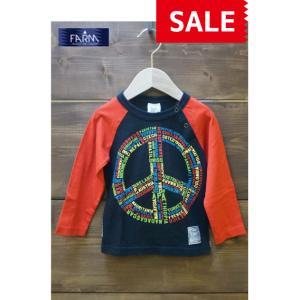 【SALE】FARM / ファーム 子供服 キッズTシャツ ワールドアートTシャツ 90cm 男の子|kooka