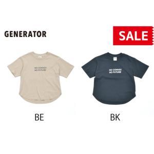 GENERATOR / ジェネレーター 子供服 半袖Tシャツ CONVEX×GENERATOR 男の子 女の子 2021SS|kooka