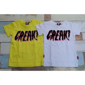 BLOC / ブロック 子供服 キッズTシャツ CREAK TEE Tシャツ イエロー 120cm 男の子&女の子|kooka