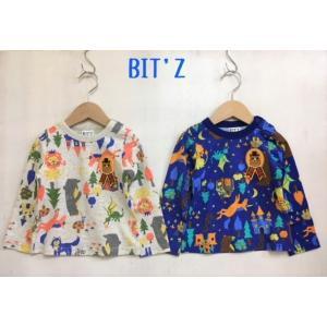 BIT'Z / ビッツ 子供服  童話柄長袖Tシャツ どうぶつ 男の子 女の子 |kooka