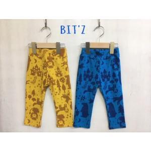 【SALE】BIT'Z / ビッツ 子供服   2柄4色ストレッチ保育園パンツ 10分丈 男の子 女の子|kooka