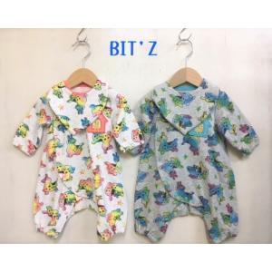 BIT'Z / ビッツ 子供服  ベビー服 ロディコラボスタイ&ちびカバーオールセット 男の子 女の子 FW |kooka