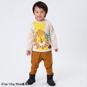 【SALE】BIT'Z / ビッツ 子供服 コアラ刺繍サルエル裏起毛パンツ 10分丈 男の子 女の子|kooka|04