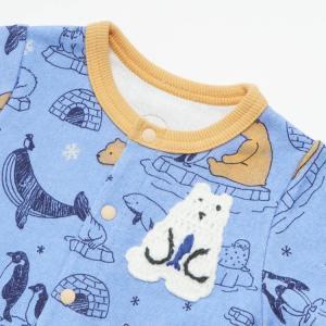 【SALE】BIT'Z / ビッツ 子供服  ベビー服 北極動物柄カバーオール 男の子 女の子 |kooka|02