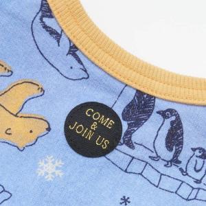 【SALE】BIT'Z / ビッツ 子供服  ベビー服 北極動物柄カバーオール 男の子 女の子 |kooka|03