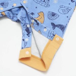 【SALE】BIT'Z / ビッツ 子供服  ベビー服 北極動物柄カバーオール 男の子 女の子 |kooka|06
