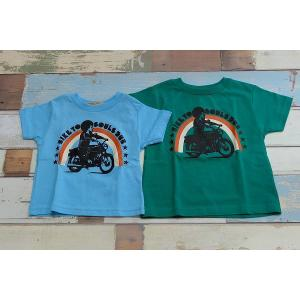 Soulsmania / ソウルズマニアキッズ 子供服 キッズTシャツ BIKERSMANIA Tシャツ 男の子&女の子|kooka