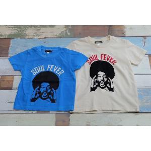 Soulsmania / ソウルズマニアキッズ 子供服 キッズTシャツ SOULS FEVER Tシャツ 男の子&女の子|kooka