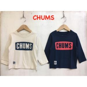 CHUMS / チャムス 子供服 キッズ kid's Boat Logo L/S T-Shirt  ロゴ長袖Tシャツ 男の子 女の子 |kooka