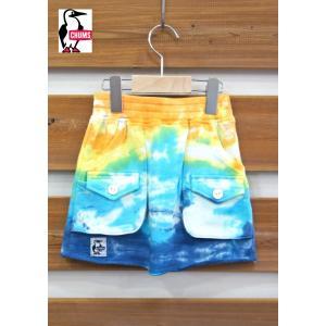 CHUMS / チャムス 子供服 キッズ Kid's Loop Sweat Bush Skirt スカート タイダイ 女の子 2017SS|kooka