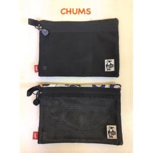 CHUMS / チャムス Eco Flat Pouch M(A5) エコフラットポーチM(A5)(ポーチ/ペンケース) CH60-2726|kooka